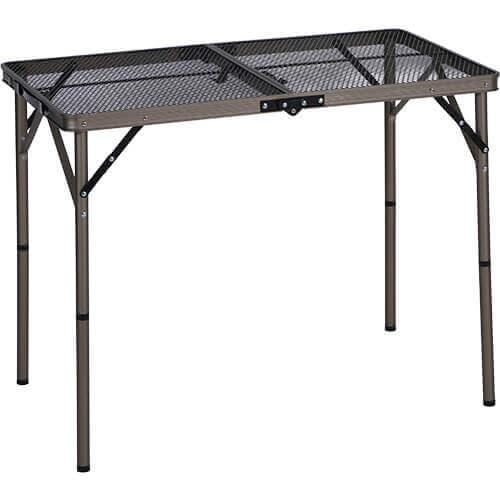 折りたたみ フルメッシュテーブル 90cm