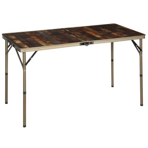 ヴィンテージライン 折りたたみテーブル 120×60cm