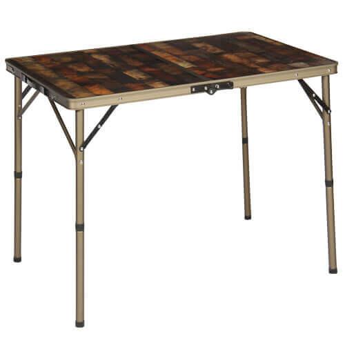 ヴィンテージライン 折りたたみテーブル 90×60cm