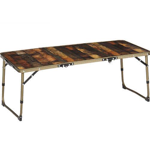 ヴィンテージライン 折りたたみミニテーブル ロング 90×40cm